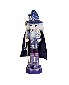 18-Inch Hollywood Wooden Wizard Nutcracker