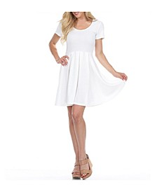 Meghan Short Sleeve Dress
