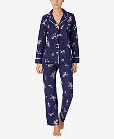 Women's Cotton Jersey Pajama Set