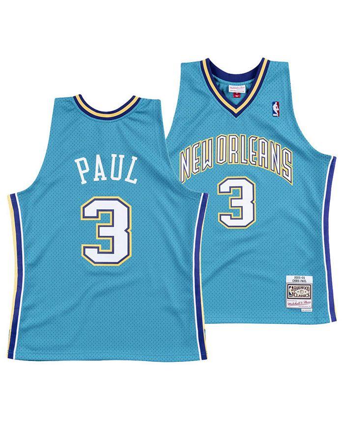 Mitchell & Ness Men's Chris Paul New Orleans Hornets Hardwood ...