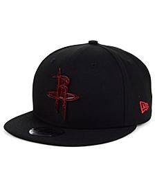Houston Rockets Metal Crackle 9FIFTY Snapback Cap