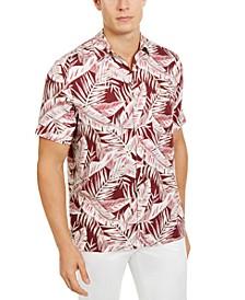 Men's Amera Leaf-Print Shirt, Created for Macy's