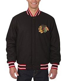 Men's Chicago Blackhawks All Wool Rev Jacket