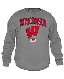 Men's Wisconsin Badgers Midsize Crew Neck Sweatshirt