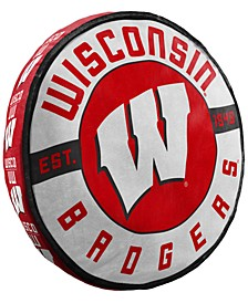 Wisconsin Badgers 15inch Cloud Pillow