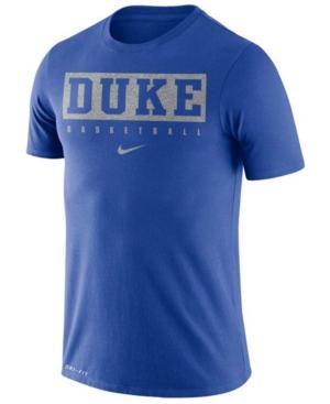 Nike Men's Duke Blue Devils Dri-fit Basketball Practice T-Shirt