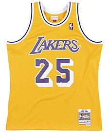 Men's Eddie Jones Los Angeles Lakers Hardwood Classic Swingman Jersey