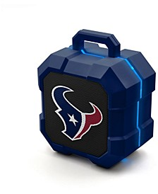 Prime Brands Houston Texans Shockbox LED Speaker