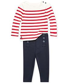 Baby Girls Nautical Pants Set