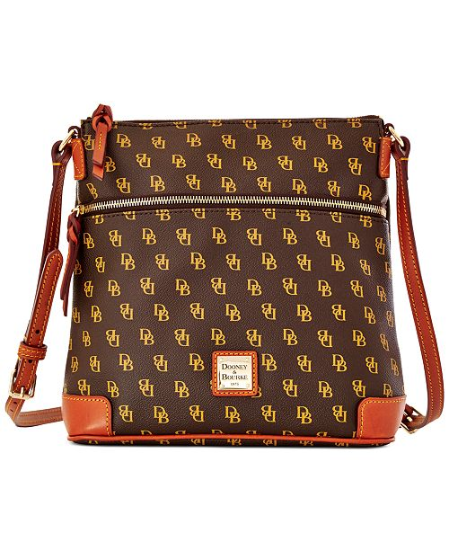 Dooney & Bourke Gretta Signature Crossbody