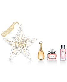 Choose your Complimentary Deluxe Women's Fragrance Star Ornament with any $165 purchase