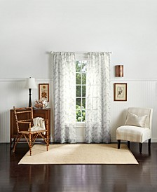 "Martha Stewart Eucalyptus 84"" Poletop Curtain Panels"