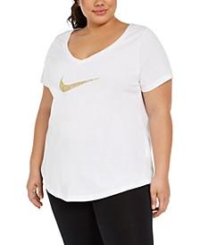 Plus Size Logo Graphic T-Shirt