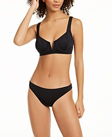 V-Wire Bikini Top & Hipster Bottoms, Created for Macy's
