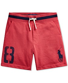 Little Boys Big Pony Cotton Mesh Shorts
