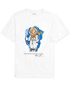 Big Boys Diving Bear Cotton Jersey T-Shirt