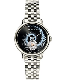 Women's Swiss Fibonacci Stainless Steel Bracelet Watch 36mm