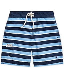 Little Boys Kailua Striped Swim Trunks