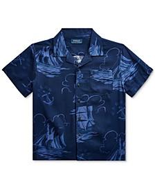 Toddler Boys Sailboat-Print Shirt
