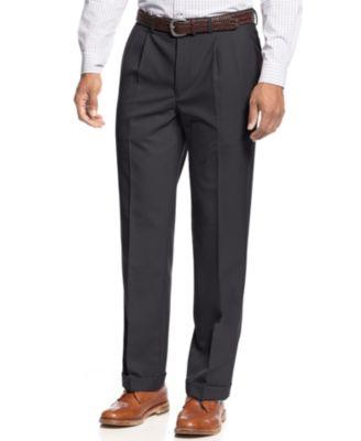 Pleated Dress Pants For Men
