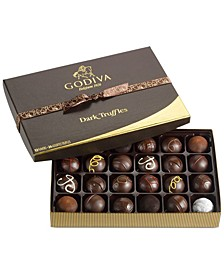 Chocolatier 24-Pc. Dark Chocolate Truffles Gift Box