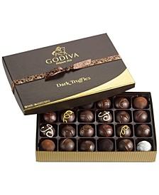 고디바 쇼콜라티에 24피스 다크 초콜릿 트러플 기프트 박스 Godiva Chocolatier 24-Pc. Dark Chocolate Truffles Gift Box
