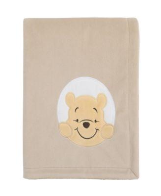 Winnie the Pooh Sherpa Baby Blanket