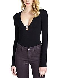 Cybill V-Neck Bodysuit