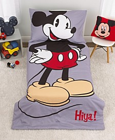 Mickey Mouse 4-Piece Toddler Bedding Set