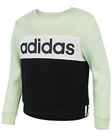 Big Girls Colorblocked Fleece Sweatshirt