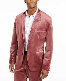 INC Men's Slim-Fit Velvet Blazer, Created For Macy's