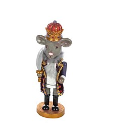 12-Inch Hollywood Mouse King Nutcracker