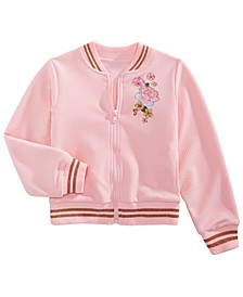 Little Girls Princesses Bomber Jacket