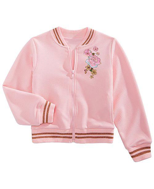 Disney Toddler Girls Princesses Bomber Jacket
