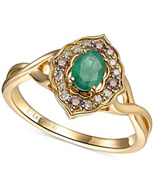 Multi-Gemstone (1/2 ct. t.w.) Statement Ring in 14k Gold