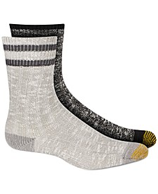 Women's 2-Pk. Lux Slub Crew Boot Socks