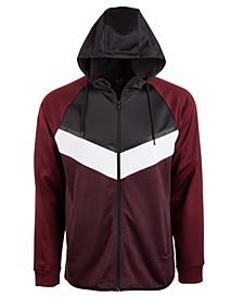 Men's Colorblocked Fleece Zip Hoodie, Created for Macy's