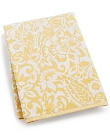 "30"" x 56"" Elite Cotton Scroll Paisley Bath Towel, Created for Macy's"