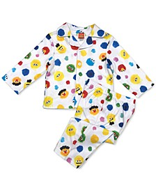 Isaac Mizrahi Loves SesStreet Baby Boys & Girls 2-Pc. Pajama Set