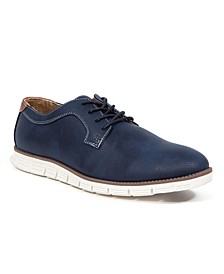 Men's Axel Classic Lace-Up Wingtip Hybrid Sneaker Dress Comfort Oxford Shoes