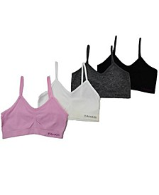 Tahari Girl Seamless 4-Pack Bra