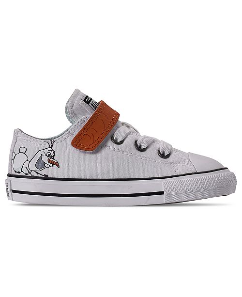 Toddler Girls Disney Frozen 2 x Converse Olaf Chuck Taylor Low Top Stay Put Closure Casual Sneakers from Finish Line