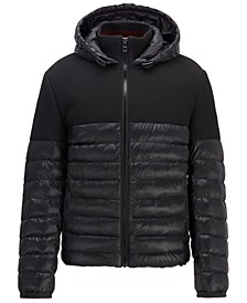 BOSS Men's Cumon Regular-Fit Water-Repellent Jacket