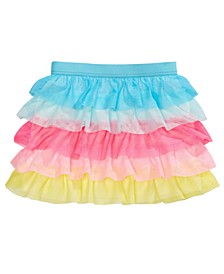 Little Girls Tiered Tulle Skirt, Created For Macy's