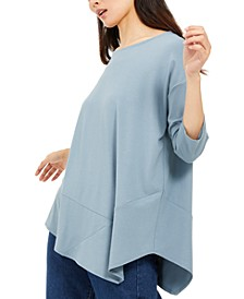 Asymmetrical-Hem Tunic, Created For Macy's