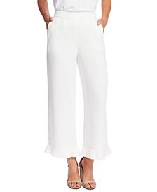 Pleated Crepe Pants