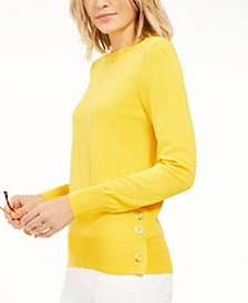 Snap-Hem Sweater
