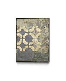 "14"" x 11"" Wisteria II Art Block Framed Canvas"