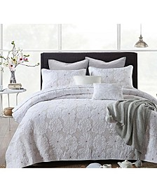 Madison Embroidered Cotton Quilt 3-Pc Set