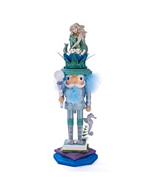 17.5-Inch Hollywood™ Mermaid King Nutcracker